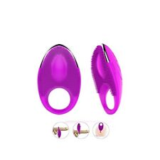 Rechargeable Penis Ring - 20 Vibration Modes Female Stimulator Cock Ring Sex Toy