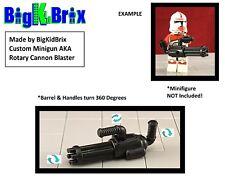 Custom Minigun aka Rotary Cannon Blaster for Star Wars Lego Minifigures!