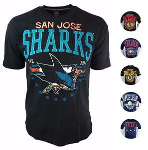 NHL Men's Big Time Distressed Stitch & Print T-Shirt G-III