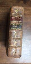 DICTIONNAIRE ALLEMAND-FRANCAIS - STRASBOURG KONIG 1782 - LIVRE ANCIEN RARE