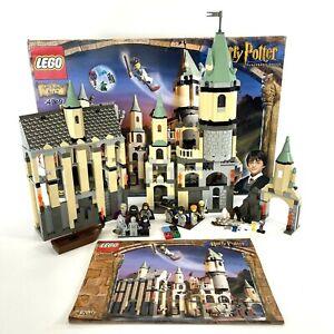 LEGO Harry Potter 4709 Hogwarts Castle 2001 Snape Hermione Retired 100% COMPLETE