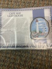 Cape May Large Patch Great American Lighthouses Patch In Sleeve Willabee &Ward