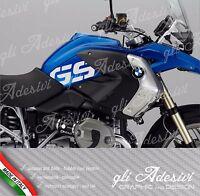 Set 2 Adesivi R 1200 GS anno 2012 no adventure fianco serbatoio moto