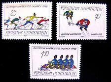 877-79 1988 WINTER GAMES, CALGARY MNH OG (SEE ITEM DESCRIPTION)