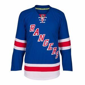 New York Rangers Reebok On-Ice Edge 2.0 Authentic Home Blue Jersey Men's