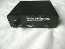 Barcus-Berry Piezo Buffer Preamp Model 4000A