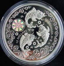 ** NEW!! ** 2015 Canada 1 oz Fine Silver $15 Coin Maple Of Longevity Hologram