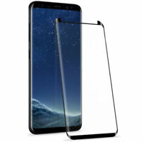 Samsung Galaxy S9 Curved Tempered Glass Case Friendly Screen Protector 5D UK