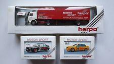 Scania Herpa Motorsport 1:87, 3 Stk. Herpa  ++ NEU++ OVP