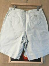Columbia men's casual short ivory size 32 x 10 tech pocket