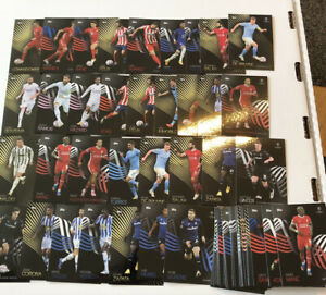 PACK FRESH 100x TOPPS KNOCKOUT CHAMPIONS LEAGUE 2020/21 SOCCER CARDS RONALDO KDB