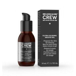 American Crew Ultra Gliding Shave Oil 50ml Brand New