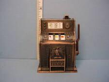 Miniature Slot Machine (Pencil Sharpener) #DDL9615 Die Cast  Metal Town Square
