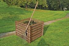 Komposter 90x90x70 cm Holzkomposter Holz Gartenkomposter Garten Gartenabfall