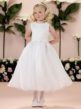 863d4584a9c64 Guaranteed 3 day delivery · NEW Joan Calabrese 114350 White Flower Girl  First Communion Dress Size 6X