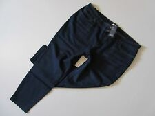 NWT Eileen Fisher Slim Ankle in Washed Indigo Organic Cotton Stretch Jeans 24W