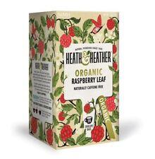 Heath et Heather Organique Framboise Feuille st&e 20 sac (lot de 6)