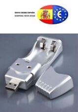 Cargador Pilas USB Recargables Ni-MH AA y AAA de alta capacidad