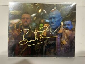 "Bruce Mackinnon - Guardians of the Galaxy Autograph - 10"" x 8"" Mounted"