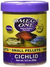 Omega One Cichlid Pellets 3.5 oz Small (2mm)
