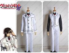 Vampire Knight Yuki Cross Cosplay Costume Night Class