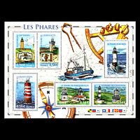 France 2007 - Lighthouses Architecture - Sc 3371 MNH