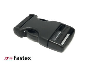 ITW Fastex - World Side Release Buckle - 25mm -  Pack of 6