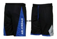 Nike Air Jordan Retro 5 Reversible Basketball Shorts AA2140-010 Black Royal NEW