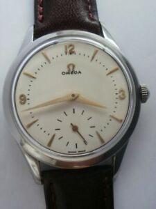 Omega cal.266 swiss men's steel ref2750 mechanical Calatrava vintage wrist watch