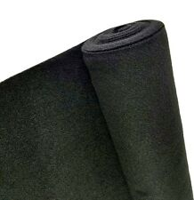 5 Yards Black Upholstery Un-Backed Trim Automotive Carpet 40