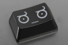 ABS Etched, Shine-Through Novelty Keycap R2 1.5U Black Brand New  6558-3