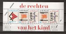NVPH Nederland V 1438 blok sheet MNH PF kinderzegels 1989 Netherlands Pays Bas