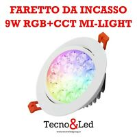 FARETTO DA INCASSO 9W RGB+CCT MI-LIGHT FUT062