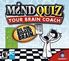 Mindquiz: Your Brain Coach ~ PC CD-ROM Software ~ NEW