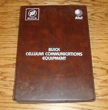 1989 Buick AT&T Cellular Communications Equipment Dealer Album Binder 89