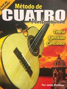 Método de Cuatro Puertorriqueño (Teoría, ejercicios y canciones)