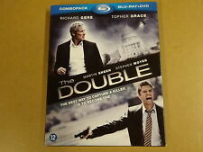 BLU-RAY + DVD / THE DOUBLE ( RICHARD GERE, TOPHER GRACE, MARTIN SHEEN... )