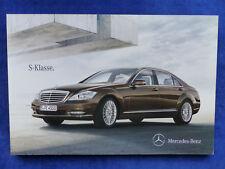 Mercedes-Benz S-Klasse - S600 Pullman S63 S65 AMG - Prospekt Brochure 12.2010
