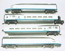 "Mehano HO Spain RENFE 4-Piece SPANISH HIGH SPEED ""AVE"" MULTIPLE UNIT MIB`07 RARE"