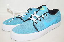 Nike le Low Low Leather Taille 42,5 UK 8 turquoise 599452-441 échantillons animal print