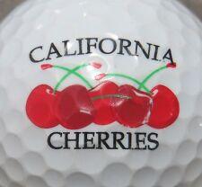 (1) California Cherries Logo Golf Ball