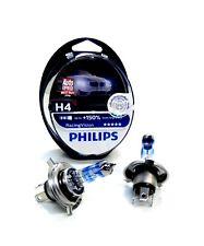 2x PHILIPS GLÜHLAMPE H4 150% RACINGVISION BIRNE LAMPE 12V 60/55W P43T-38