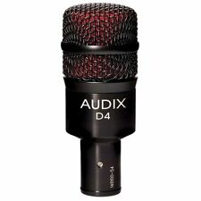 Audix D4 Hypercardioid Dynamic Percussion Drum Studio Live Stage Microphone NEW