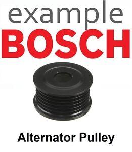 BOSCH Alternator Clutch Pulley F00M991391