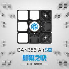 GAN 356 Air SM 3x3x3 Magnet Positioning System Magic Cube Twisty Puzzle Black