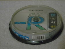 10 x Fujifilm 120 min Dischi DVD-R