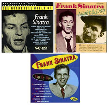 FRANK SINATRA 3 CD's *New* 72 Original songs from 40's & 50's Radio & TV Years