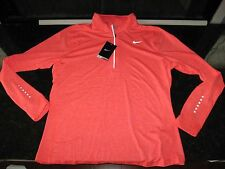 NIKE Women's DRIFIT STAYWARM 1/4 Zip Pullover Running Shirt,88% Plystr/12%Spndx
