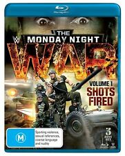 WWE - Monday Night War - Shots Fired : Vol 1 (Blu-ray, 2015, 3-Disc Set)