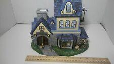 🌟 Large PartyLite Olde World Village 1, Candle Shoppe Tea Light House (xx2)